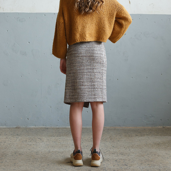 Indi & Cold Tweed Skirt