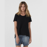 Jac + Mooki Elvie Tee (Black)