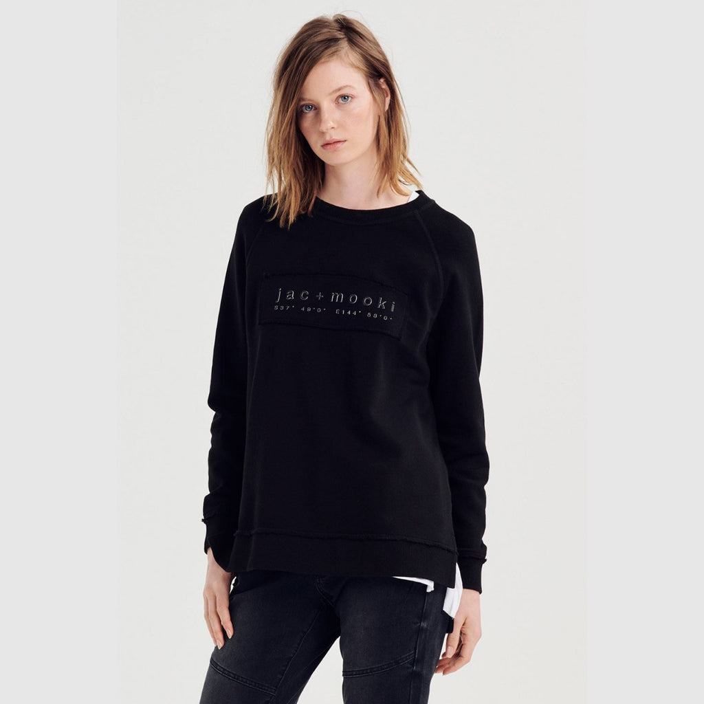 Jac + Mooki Lola Sweater (Black)