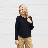 Sasha Knit Top (Black)
