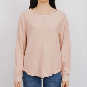 Sasha Knit Top (Blush)
