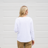 Sasha Knit Top (White)