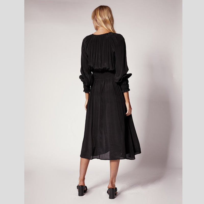 Ministry of Style Inner Bloom Maxi Dress (Black)