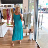 Freya Dress (Teal)