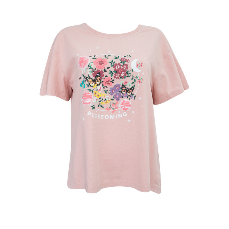 Blossoming Tee (Pink)
