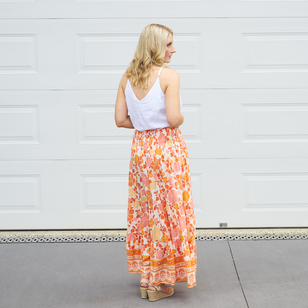 Hayes Floral Maxi Skirt