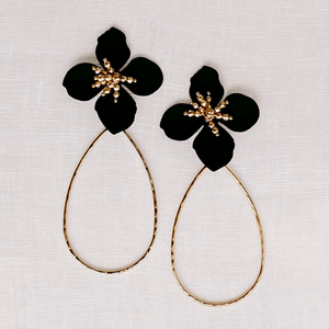Kora Earrings (Black)