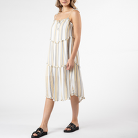 Sass Eya Stripe Midi Dress