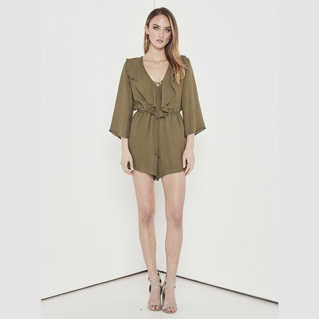 Shilla Aspire Playsuit (Khaki)