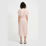 Zahara Shirt Dress (Pink Leopard)