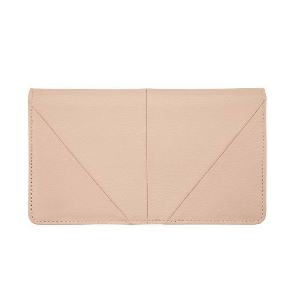 Status Anxiety Triple Threat Wallet (Dusty Pink)