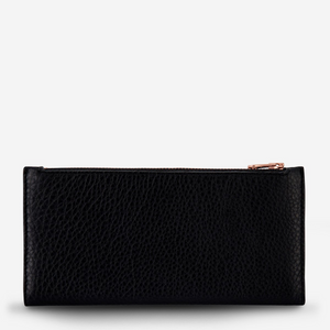 Status Anxiety Audrey In The Beginning Leather Wallet (Black)