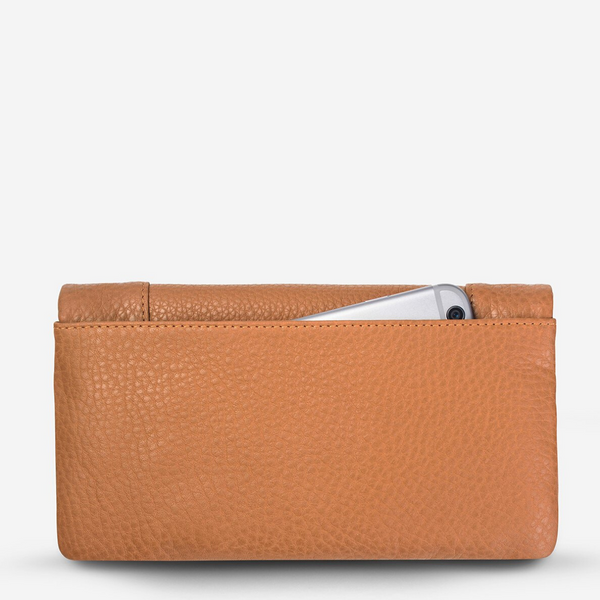 Status Anxiety Some Type Of Love Leather Wallet (Tan)