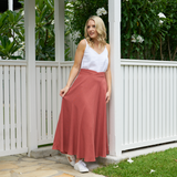 Autumn Skirt (Terracotta)