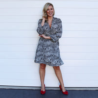 Stella Wrap Dress