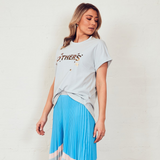 The Others Stars Relaxed Tee (Dusty Blue)