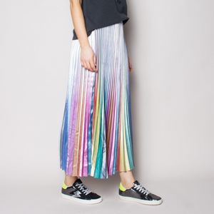 The Others Sunray Pleated Skirt (Rainbow)