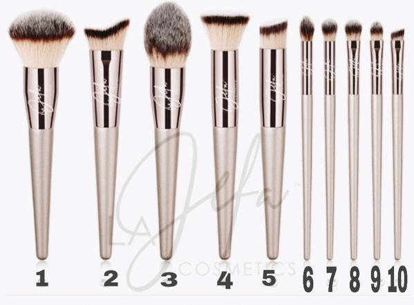 LA JEFA BRUSHES