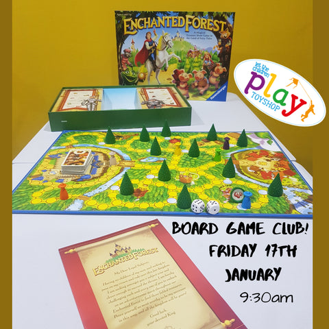 Enchanted Forest Board Game Club