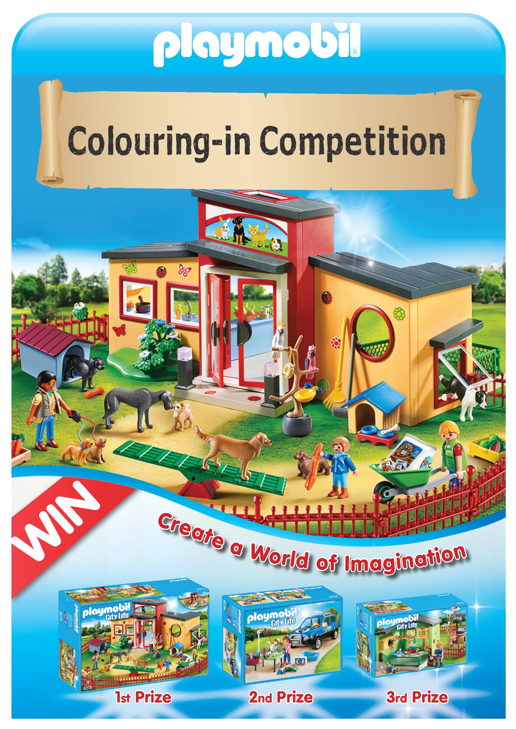 Playmobil Colouring-In Competition