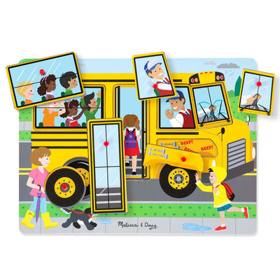 Wheels on the Bus Sound Puzzle - Melissa and Doug