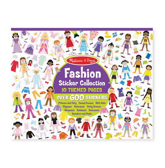 Fashion Sticker Collection - Melissa and Doug