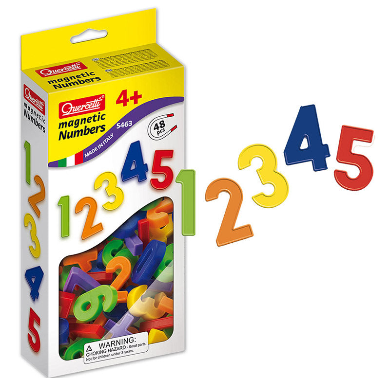 Magnetic Numbers 48pcs - Quercetti