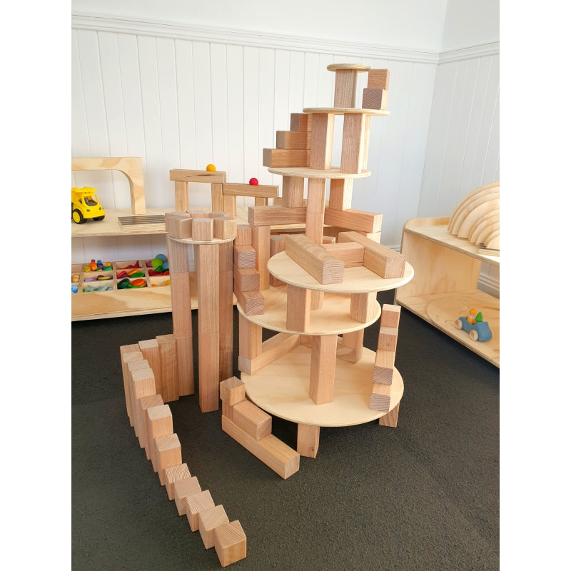 Circle Building Platforms - The Wooden Toy Co