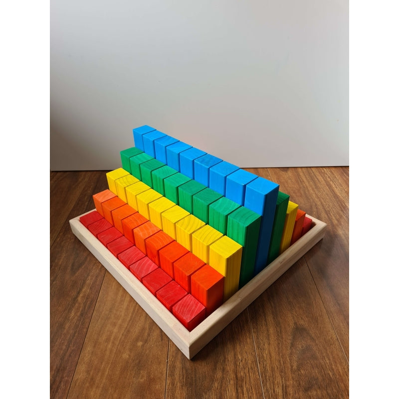 Building Blocks 81 Piece Kit  Colour - The Wooden Toy Co