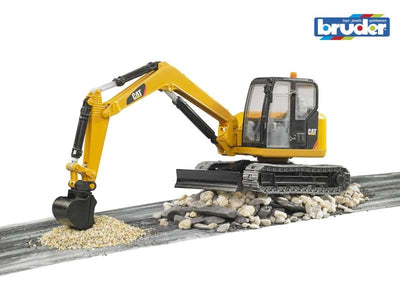 Caterpillar Mini Excavator 1:16 - Bruder play