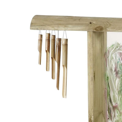 Discovery Create and Paint Easel - Plum - chimes