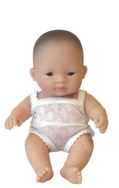 Asian Boy 21cm Baby Doll - Miniland