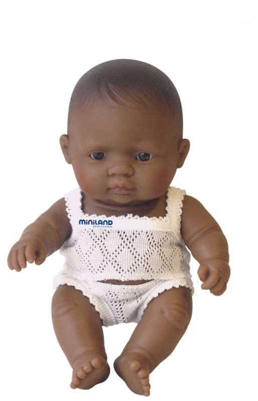 Hispanic Boy 21cm Baby Doll - Miniland