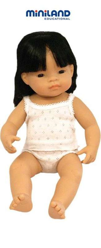 Baby Doll Asian Girl 38cm - Miniland