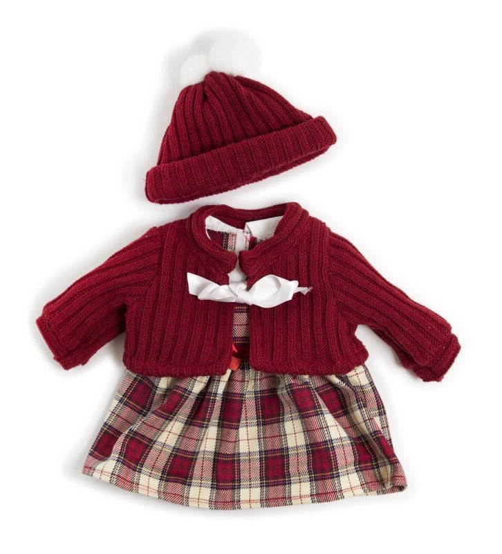 Winter Dress Set 38cm - Miniland