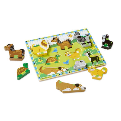 Pets Chunky Puzzle - Melissa and Doug
