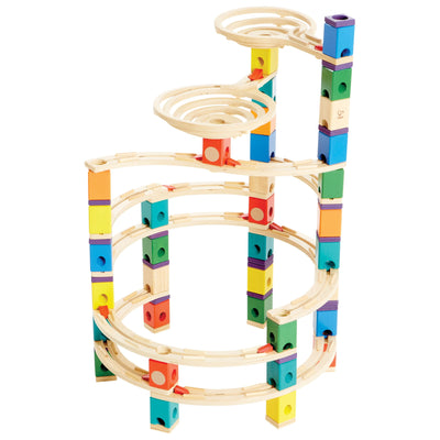 Quadrilla Cyclone Marble Run 198pc - Hape