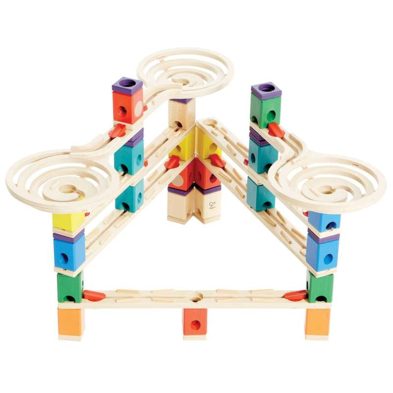 Quadrilla Vertigo Marble Run 134pc - Hape