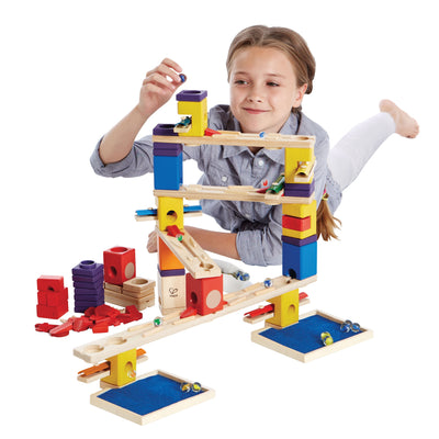 Quadrilla Music Motion Marble Run 96pc - Hape