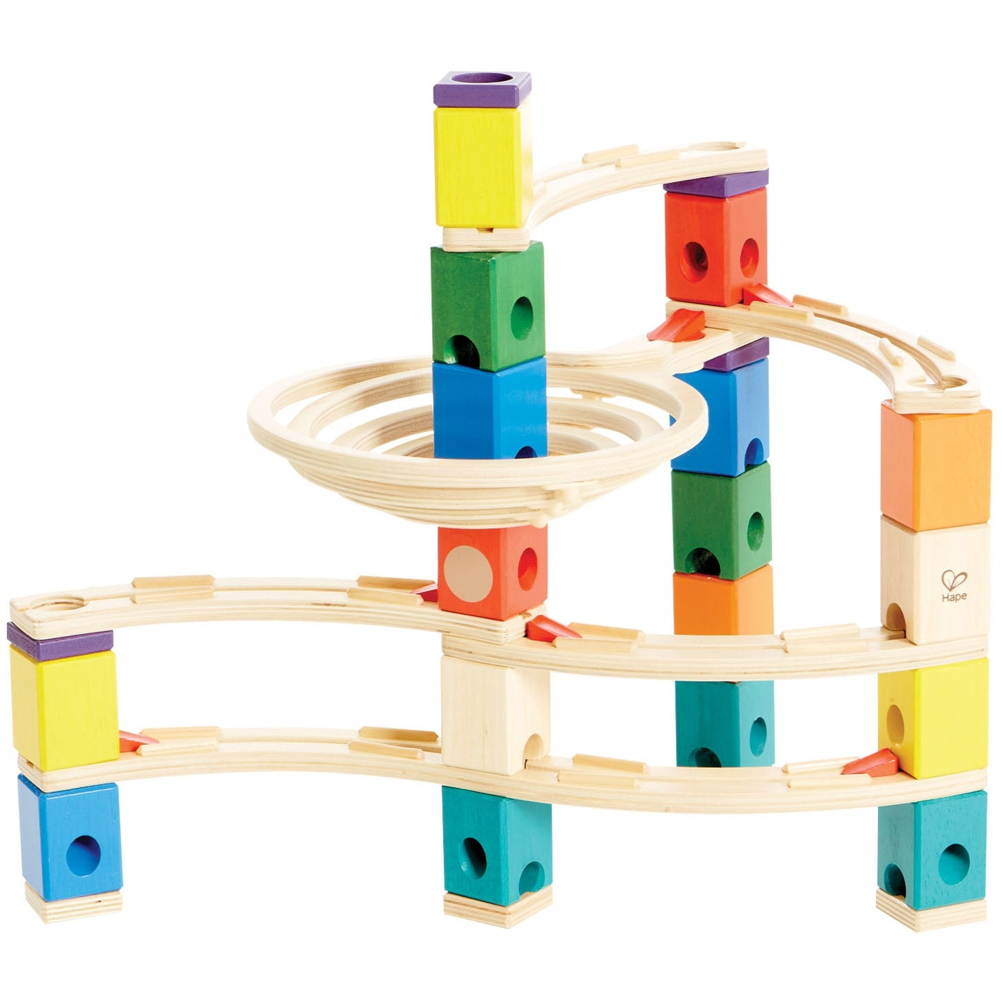 Quadrilla Whirlpool Marble Run 106pc - Hape