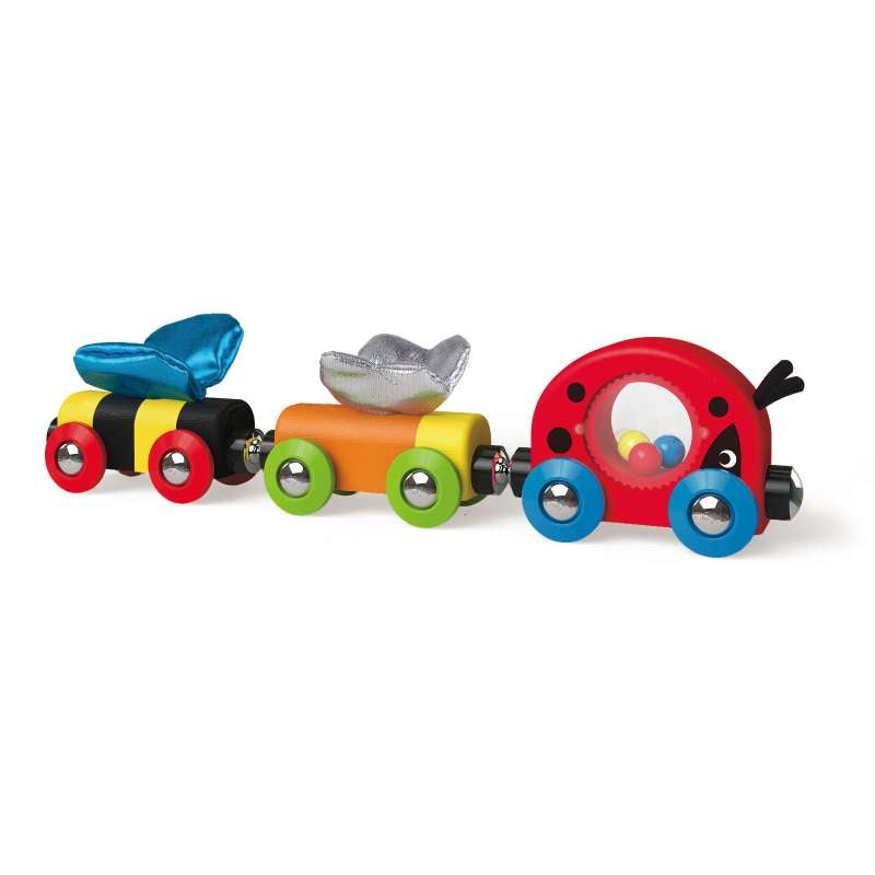 Lucky Ladybug and Friends Train - Hape