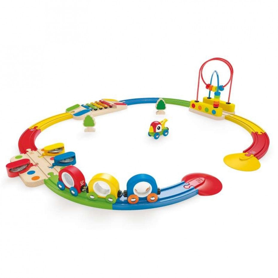 Sights and Sound Railway Track - Hape