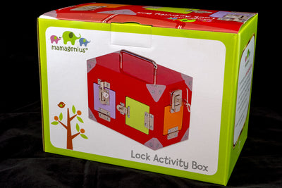 Lock Activity Box - Mamagenius box