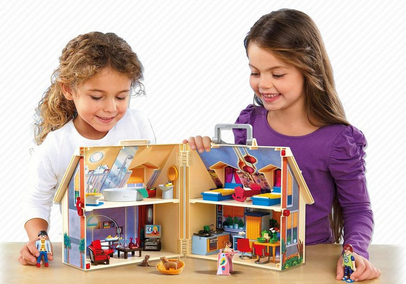 Take Along Modern Doll House - Playmobil