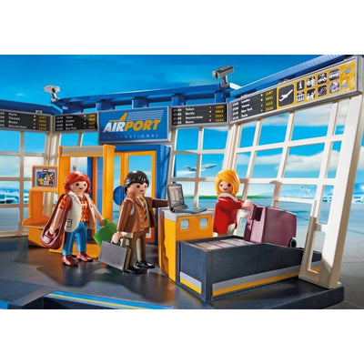Airport with Control Tower - Playmobil