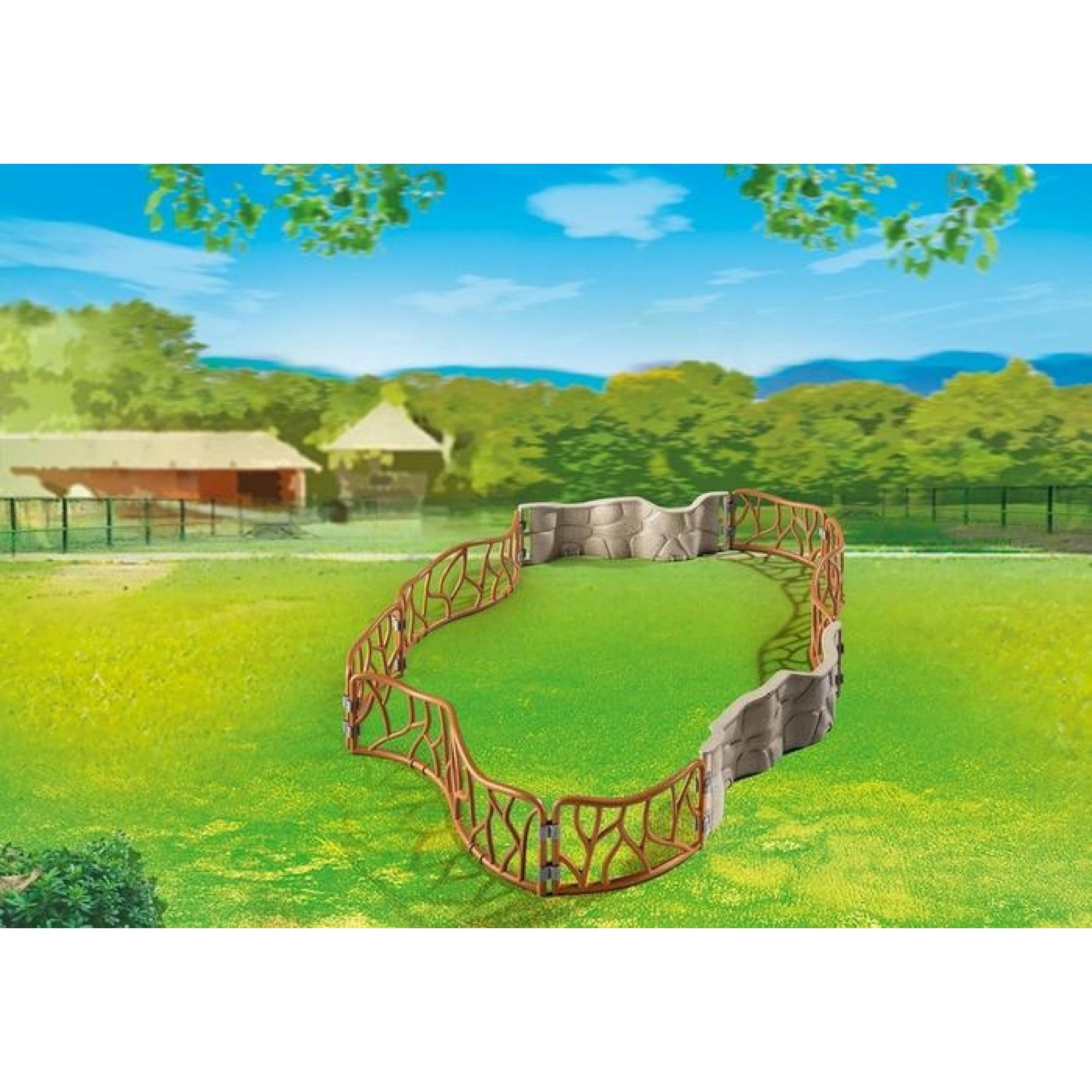 Zoo Enclosure - Playmobil