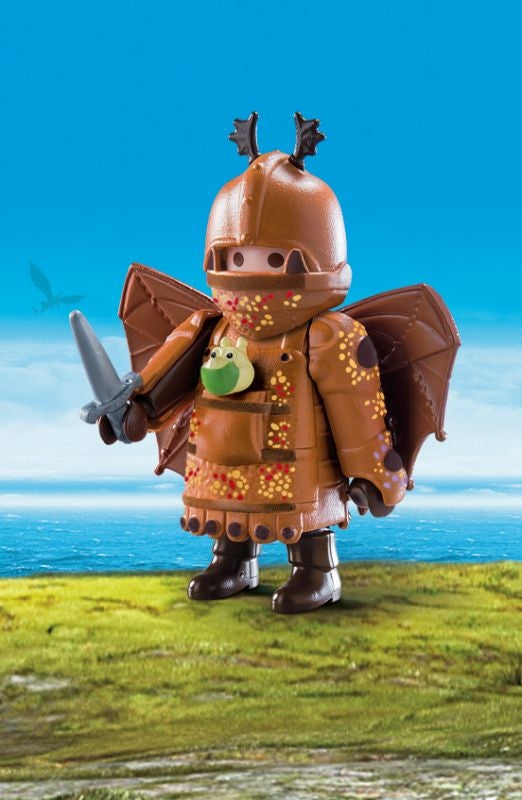 Fishlegs in Flight Suit - Playmobil - HTTYD3 movie