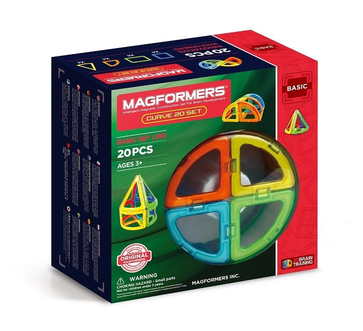 Curve 20 Set - Magformers