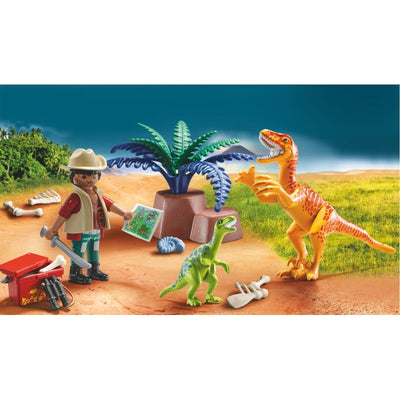 Dino Explorer Carry Case - Playmobil