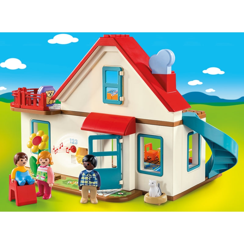 1.2.3 Family Home - Playmobil